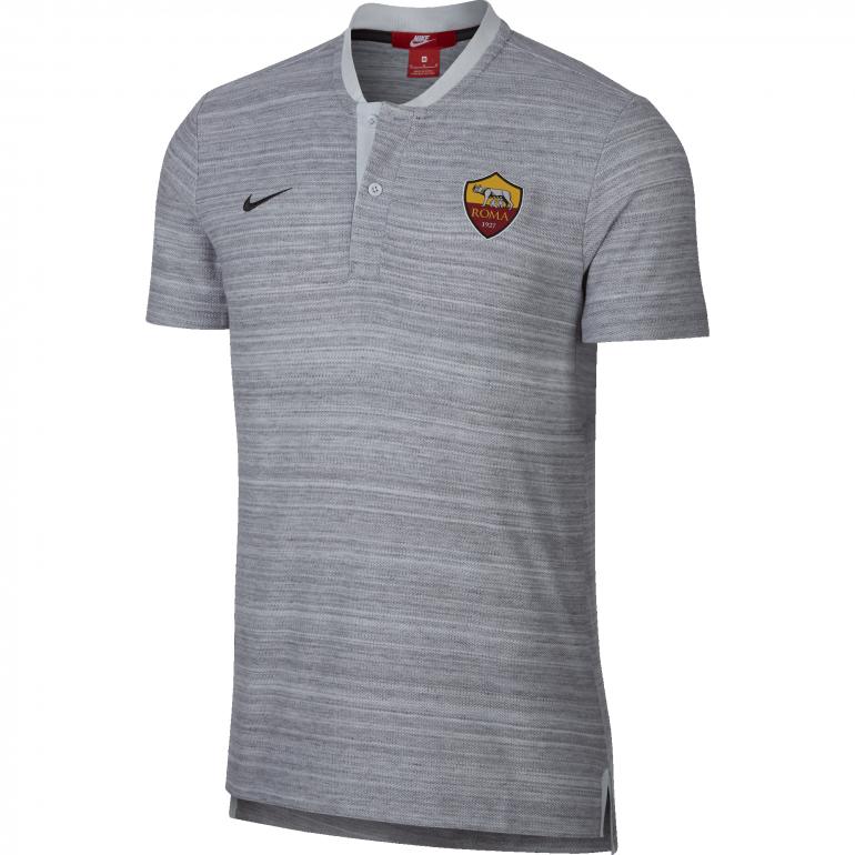 Polo AS Roma authentique gris 2018/19