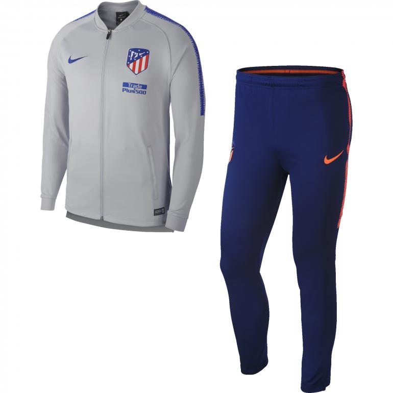 Ensemble survêtement Atlético Madrid gris bleu 2018/19