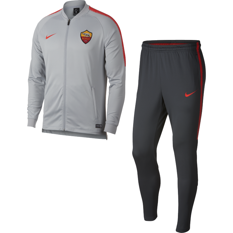 Ensemble survêtement AS Roma gris 2018/19