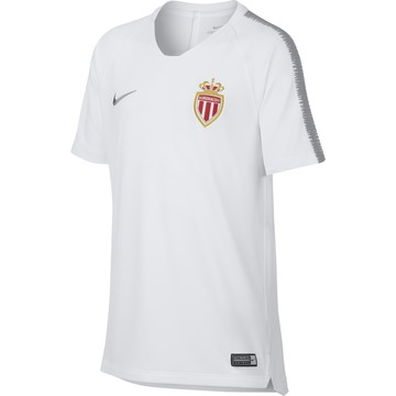 Maillot entrainement junior AS Monaco blanc 2018/19