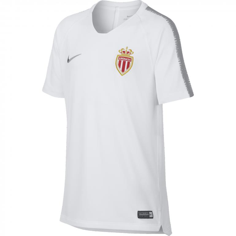 Maillot entrainement junior AS Monaco blanc 2018/19