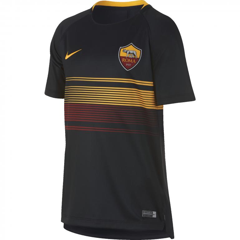 Maillot entrainement junior AS Roma noir 2018/19