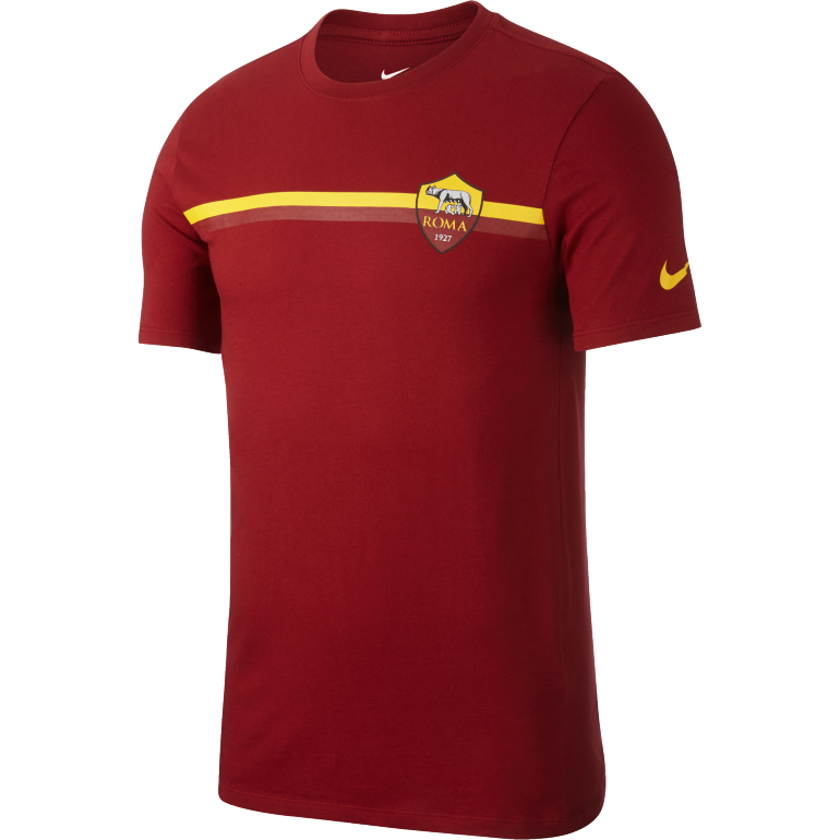 T-shirt AS Roma rouge 2018/19