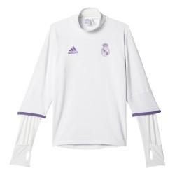 Training top Real Madrid blanc 2016 - 2017