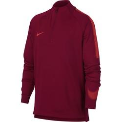 Sweat zippé junior Nike rouge 2018/19