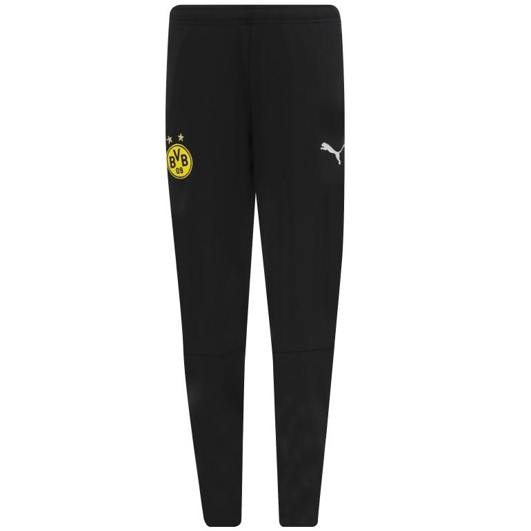 Pantalon survêtement junior Dortmund noir 2018/19