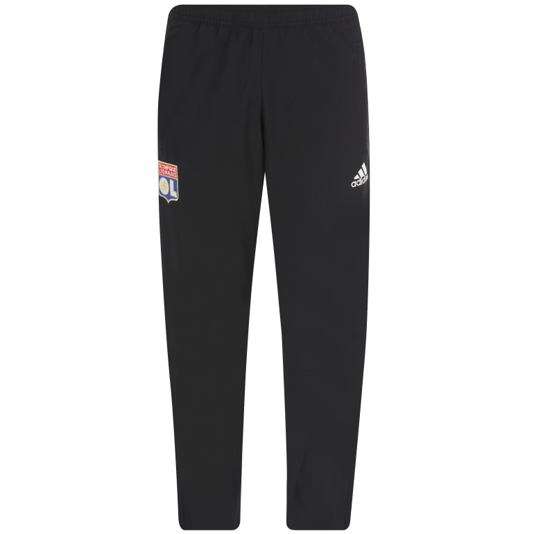 Pantalon survêtement OL microfibre noir 2018/19