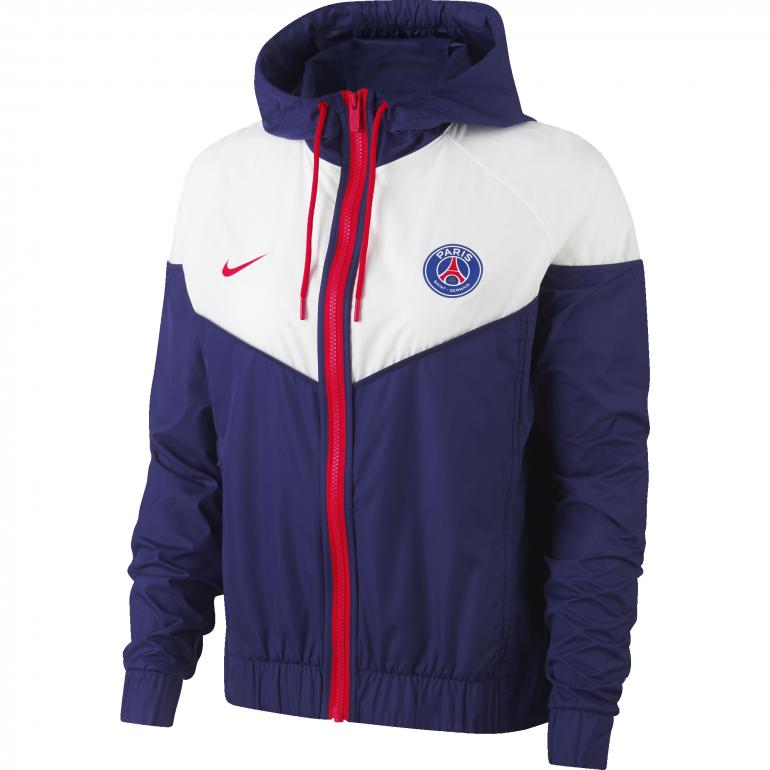 Coupe vent Femme PSG bleu 2018/19