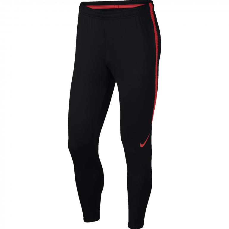 Pantalon survêtement Nike noir rouge 2018/19