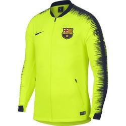 Veste survêtement FC Barcelone jaune 2018/19