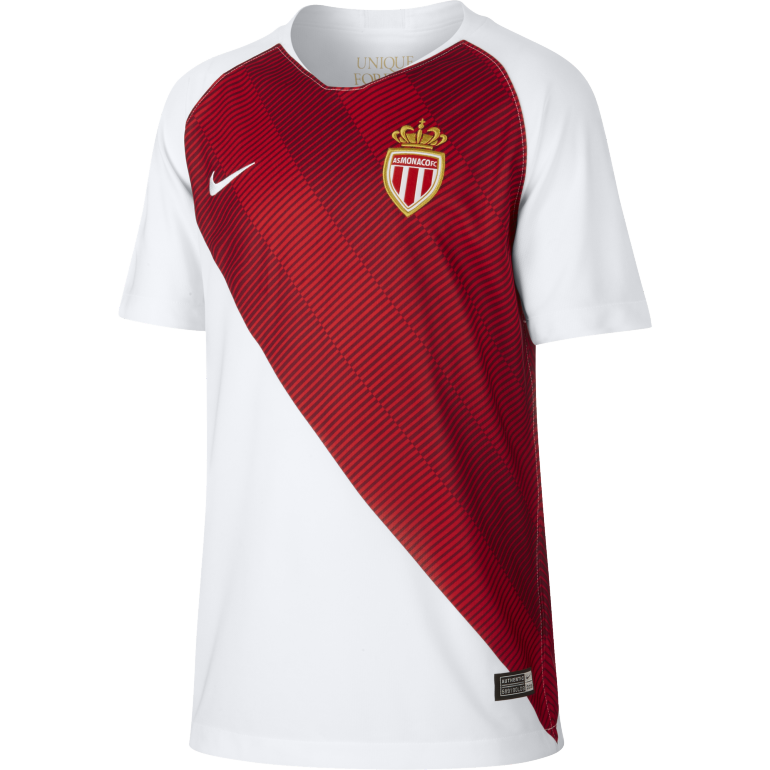 Maillot junior AS Monaco domicile 2018/19