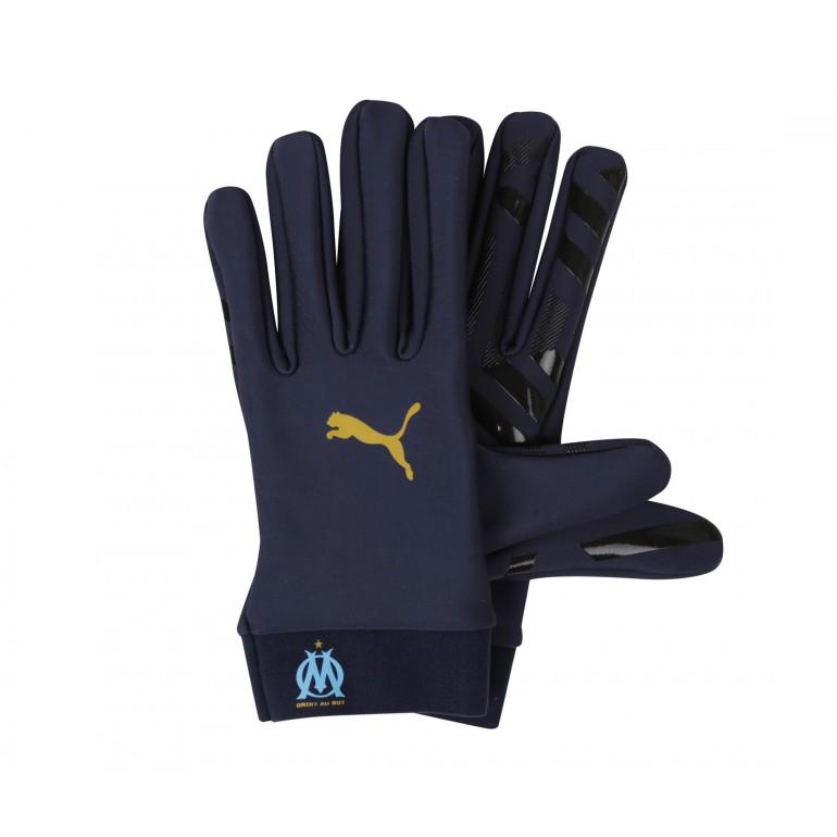 Gants joueurs OM bleu foncé 2018/19