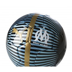 Ballon OM Chrome bleu noir 2018/19
