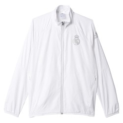 Veste Real Madrid Stadium blanche 2016 - 2017