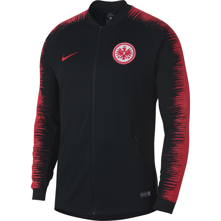 Veste survêtement Eintracht Francfort noir 2018/19