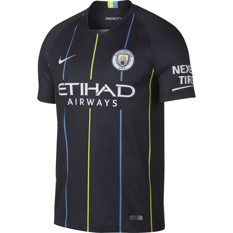 Maillot Manchester City extérieur 2018/19