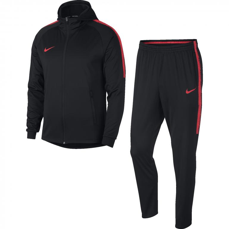Ensemble survêtement Nike noir rouge 2018/19