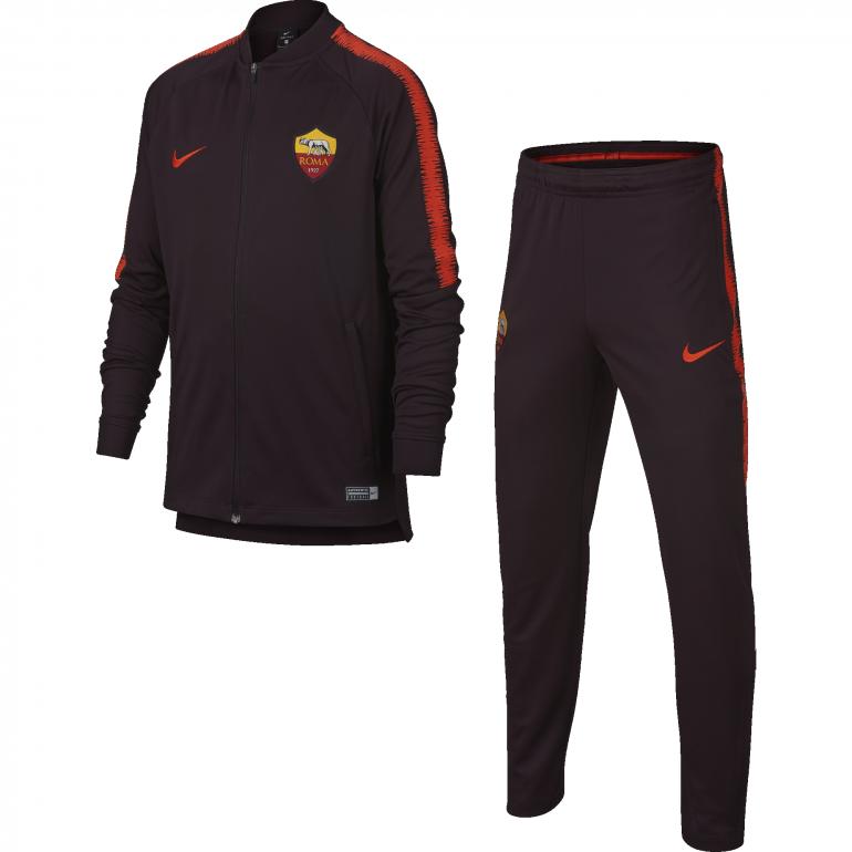 Ensemble survêtement junior AS Roma rouge 2018/19