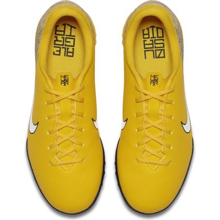 Mercurial Vapor XII Academy Neymar junior turf jaune