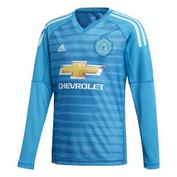 Maillot gardien junior Manchester United bleu 2018/19