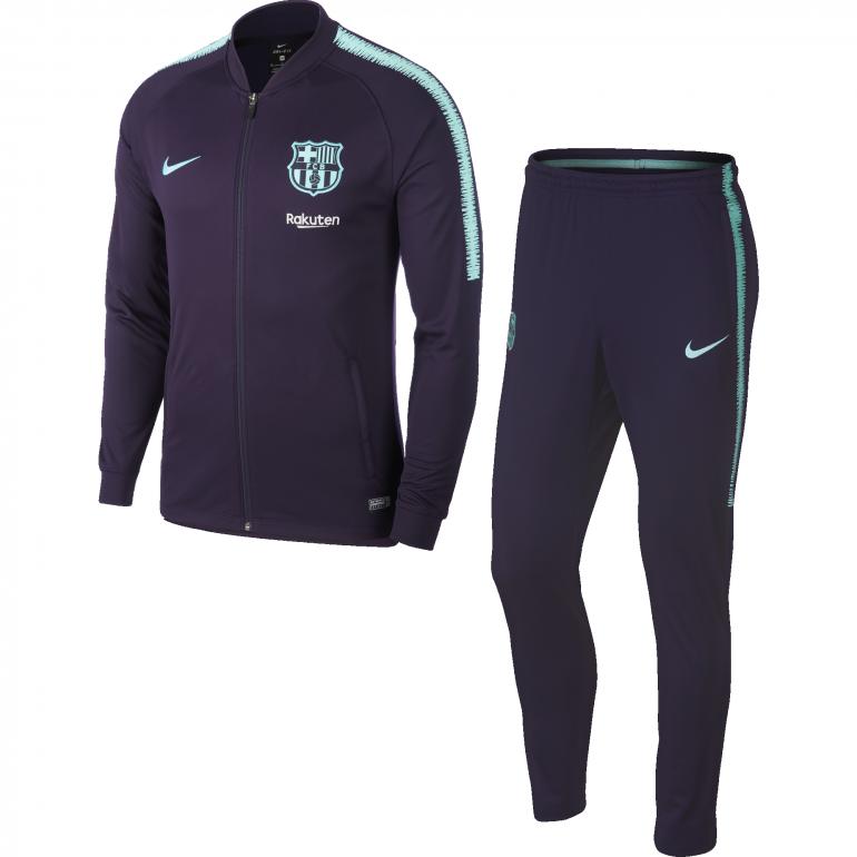 Ensemble survêtement FC Barcelone bleu 2018/19