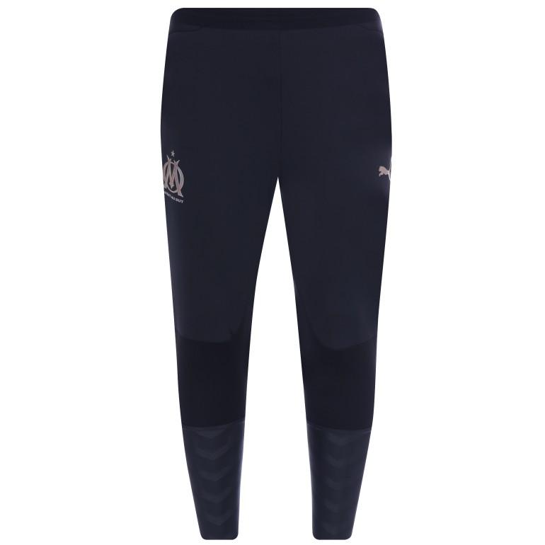 Pantalon entraînement pro OM bleu foncé 2018/19
