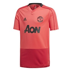 Maillot entraînement junior Manchester United rouge 2018/19