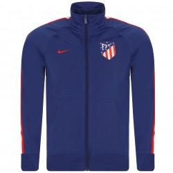 Veste survêtement Atlético Madrid bleu foncé 2018/19