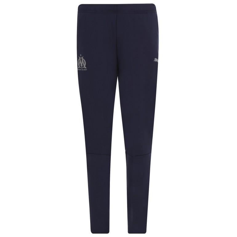 Pantalon entraînement junior OM bleu foncé 2018/19