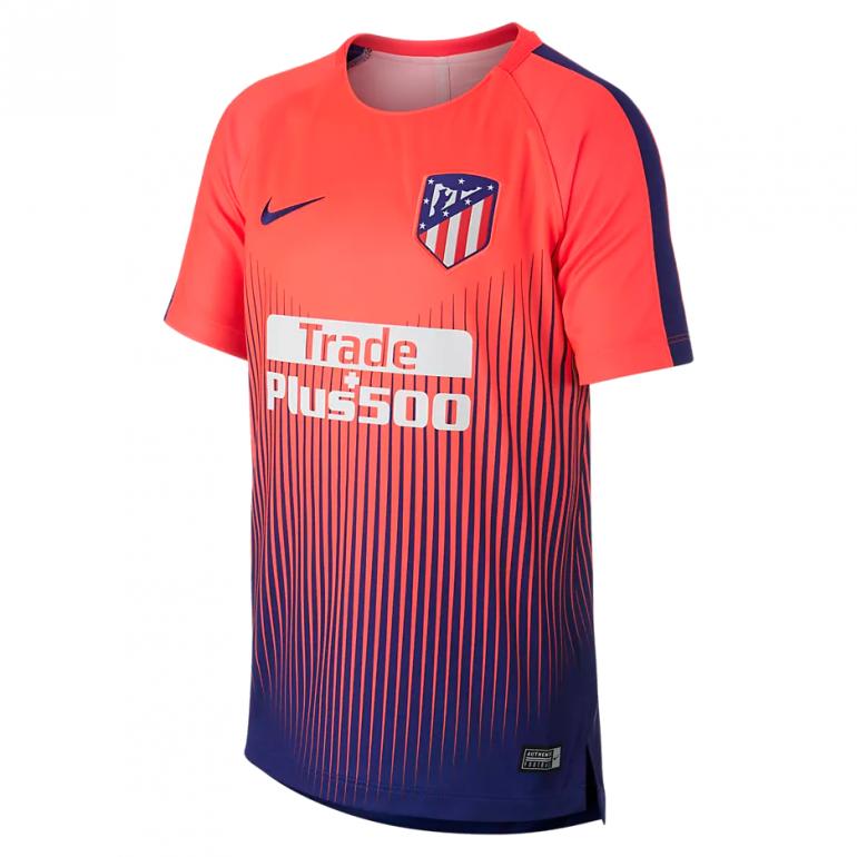 Maillot entraînement junior Atlético Madrid rouge 2018/19