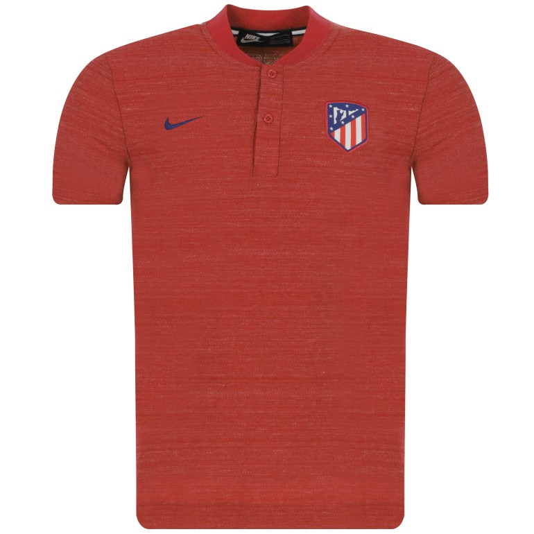 Polo Atlético Madrid rouge 2018/19