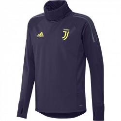 Sweat col montant Juventus Europe violet 2018/19