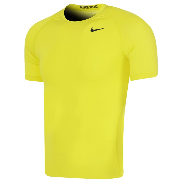 Maillot Technique Nike jaune 2018/19