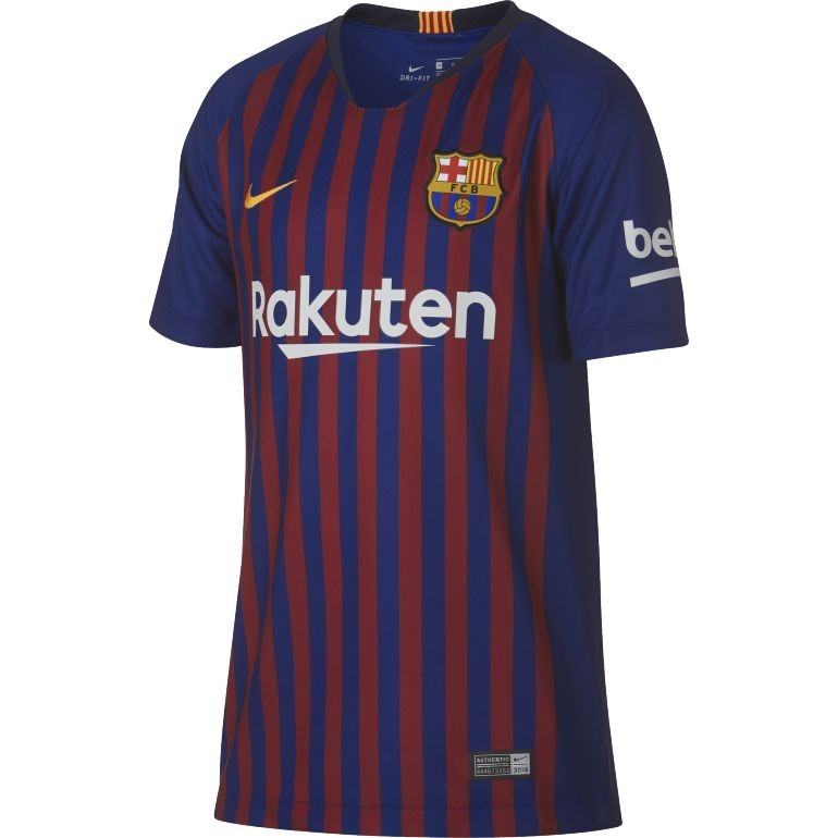 Maillot junior FC Barcelone domicile 2018/19
