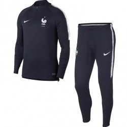 Ensemble survêtement sweat Equipe de France bleu 2018