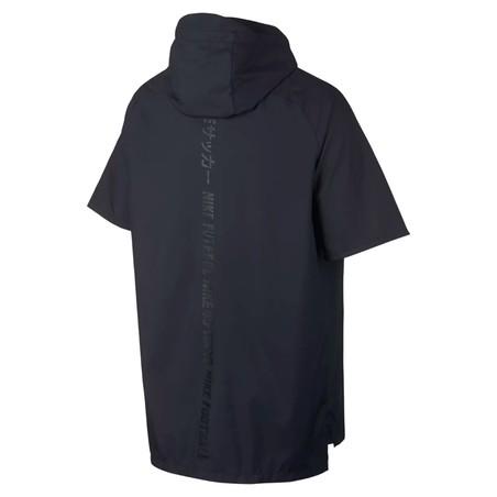 T-shirt zippé à capuche Nike F.C. noir 2018/19