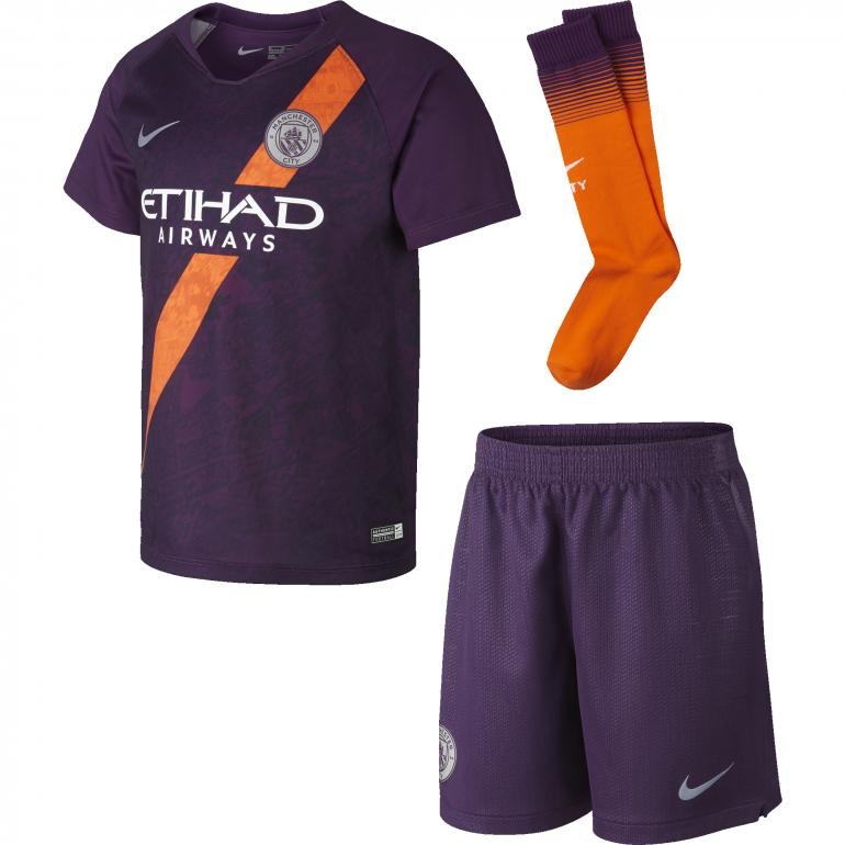 Tenue junior Manchester City third 2018/19