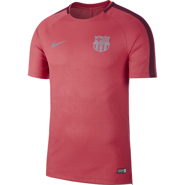 Maillot entrainement FC Barcelone third rose 2018/19