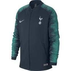 Veste survêtement junior Tottenham noir vert 2018/19