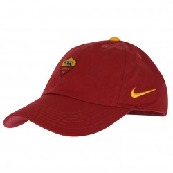 Casquette junior AS Roma Heritage86 rouge 2018/19