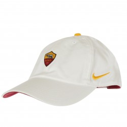 Casquette junior AS Roma Heritage86 blanc 2018/19