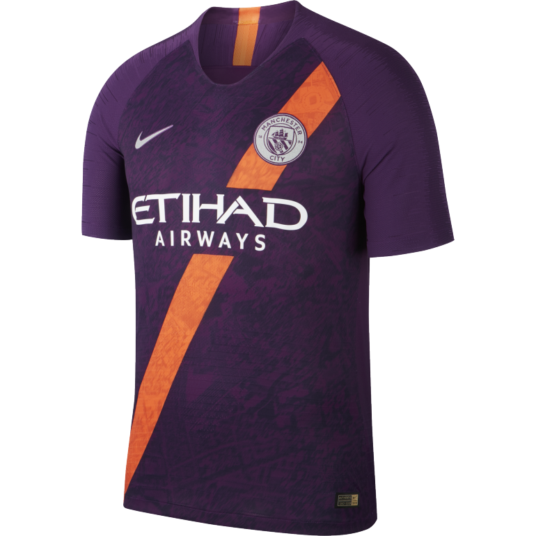 Maillot Manchester City third Authentique 2018/19