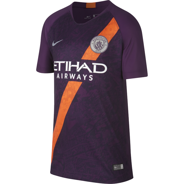 Maillot junior Manchester City third 2018/19