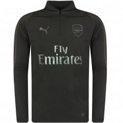 Sweat zippé Arsenal AFC noir 2018/19