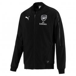 Veste survêtement Arsenal woven noir 2018/19