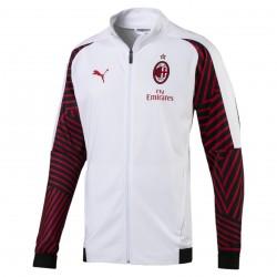Veste survêtement Milan AC blanc 2018/19