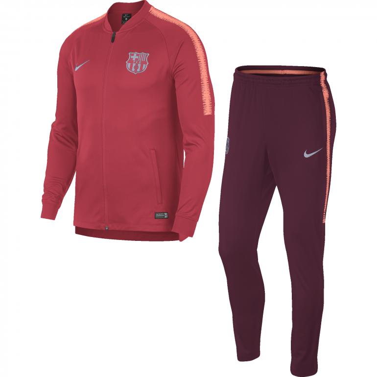 Ensemble survêtement FC Barcelone rouge 2018/19