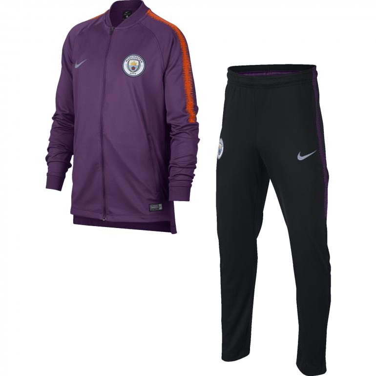 Ensemble survêtement junior Manchester City third 2018/19