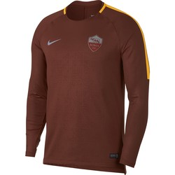 Sweat entrainement AS Roma marron 2018/19