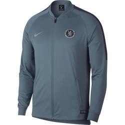 Veste survêtement Chelsea bleu gris 2018/19